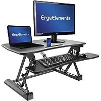 Ergo Elements Catapult Electric Standing Desk Converter