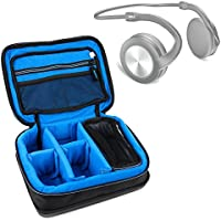 Protective EVA Headphone Case (in Blue) for the Pyle PHBT3E Headphones - by DURAGADGET