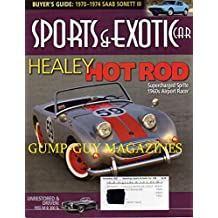 Hemmings Sports & Exotic Car December 2007 Magazine BUYER'S GUIDE 1970 - 1974 SAAB SONETT III Healey Hot Rod Supercharged Sprite 1960's Airport Racer UNRESTORED & DRIVEN: 1955 M-B 300 SL