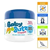 Baby Butz Butt Paste Diaper Rash Ointment - Original - Contains 30% Zinc Oxide - Recommended by Pediatricians, Nurses and Pharmacists - 4 Ounce