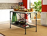 Kitchen Island with Chairs Coaster Home Furnishings Coaster 910120 Kitchen Island, French Bristro Style