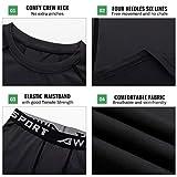 TERODACO Boys Thermal Underwear 2 PCS Athletic Base