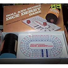 Vintage 1977 Roll and Score Dice Derby Game