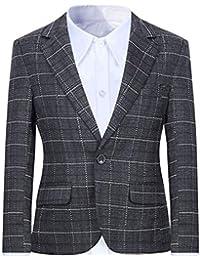 Alona Boys Formal Blazer Suits Jacket Outfit Dress Solid Color