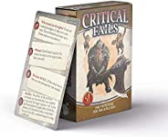Dungeons and Dragons 5th Edition Deck of Cards – Critical Fail Deck by Nord Games – 50 Cards - Games for Adult