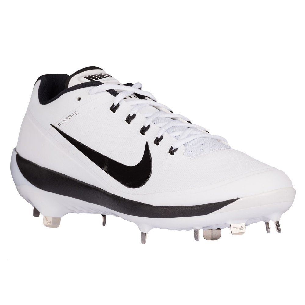 Nike Men's Air Clipper 17 Metal Baseball Cleats US) B06Y26RX31 8.5 M US Women / 7 M US Men White/Black-white