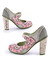 Hot Chocolate Design Chocolaticas High Heels Marie Antoinette Womens Mary Jane Pump