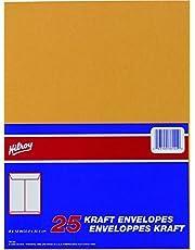 Hilroy 76144 Kraft Envelopes, 9x12-Inch, 25-Count