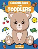 Coloring Book For Toddlers 2-4 Years: 100 Daily