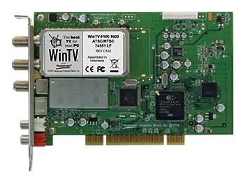 WINTV-HVR-1600 WINDOWS 10 DRIVER