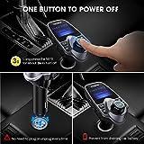 VicTsing Bluetooth FM Transmitter for Car, Wireless