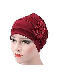 WETOO Unisex Cotton Beanie Turban Headwear Cap for Chemo Cancer Hair Lost