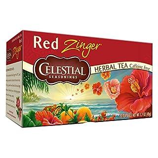 Celestial Seasonings Tea Caffeine Free Herbal Tea, Red Zinger 20 ea