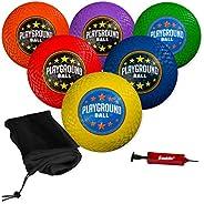 Franklin Sports Playground Balls - Rubber Kickballs and Playground Balls for Kids - Great for Dodgeball, Kickb