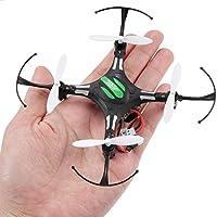 Gotd JJRC H8 Mini 2.4G 4CH 6 Axis RTF RC Quadcopter Led Night Lights CF Mode, 11cm x 11cm x 2.5cm (Black)