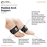 Copper Compression Padded Arch Support - 2 Padded