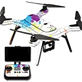 MightySkins Protective Vinyl Skin Decal for 3DR Solo Drone Quadcopter wrap cover sticker skins Splash Of Color