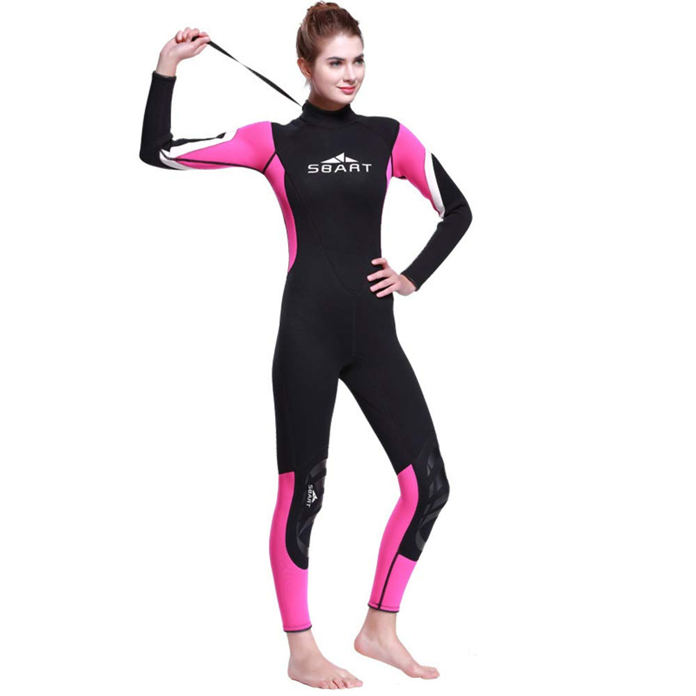 Female Medium HONGSHENG1 3MM Caoutchouc Combinaison Costume De Surf VêteHommests De Surf Hiver Chaud Natation Maillot De Bain Une Pièce à Manches Longues épaississeHommest,Male,XL