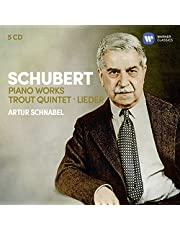 Schubert: 3 Sonatas, Impromptus Moments Musicaux