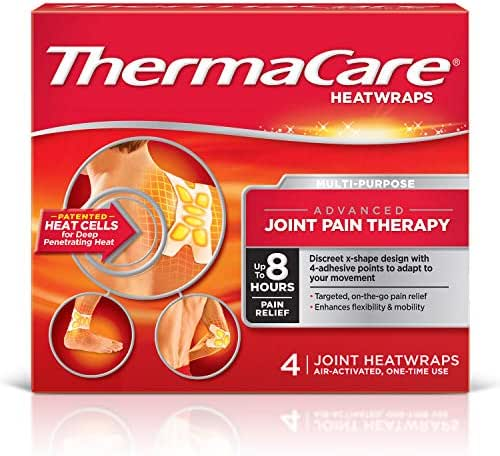 Ice & Hot Packs: ThermaCare Advanced Joint Pain