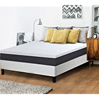 Olee Sleep 10 Inch EOS Multi Layer Gel Infused Memory Foam Mattress, 10FM05Q