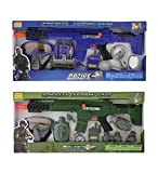 Mozlly Police Officer & Soldier Role Play Kit Toys