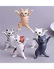 5 قطع من شركة فودو لتزيين القطط الراقصة، حامل أقلام للقطط الراقصة، مجموعة رقص التابوت للقطط، شكل قطة راقصة، ألعاب ممتعة لتزيين تزيين تزيين تزيين تزيين المنزل، حامل للقطط للمجوهرات، سماعات رأس