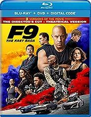 F9: The Fast Saga - Director's Cut Blu-ray + DVD + Dig