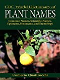 CRC World Dictionary of Plant Names: Common