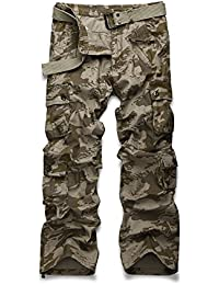 Men's Outdoor Woodland Military Cargo Pant