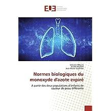 NORMES BIOLOGIQUES DU MONOXYDE D AZOTE EXPIRE