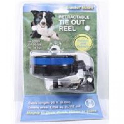 Howard Pet products527011 Retractable Reel with Bracket Mount for Medium Dogs by Phillips Feed & Pet Supply (English Manual)