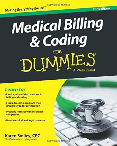 Medical Billing & Coding Fd, 2e (For Dummies (Career/Education))