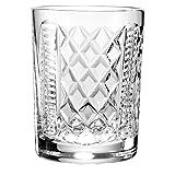 NovaScotian Crystal 12oz Whiskey Tumbler Titanic Pattern