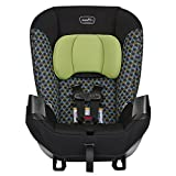 Evenflo 34712143C Sonus Converitible Car Seat, Boomerang Green