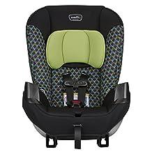 Evenflo 34712143C Sonus Converitible Car Seat, Boomerang Green