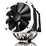 Phanteks CPU Cooler with 5 x 8mm Dual Heat-pipes, 140mm Premium Fans and PWM Adaptor, Patented P.A.T.S Coating, PH-TC14PE_BK