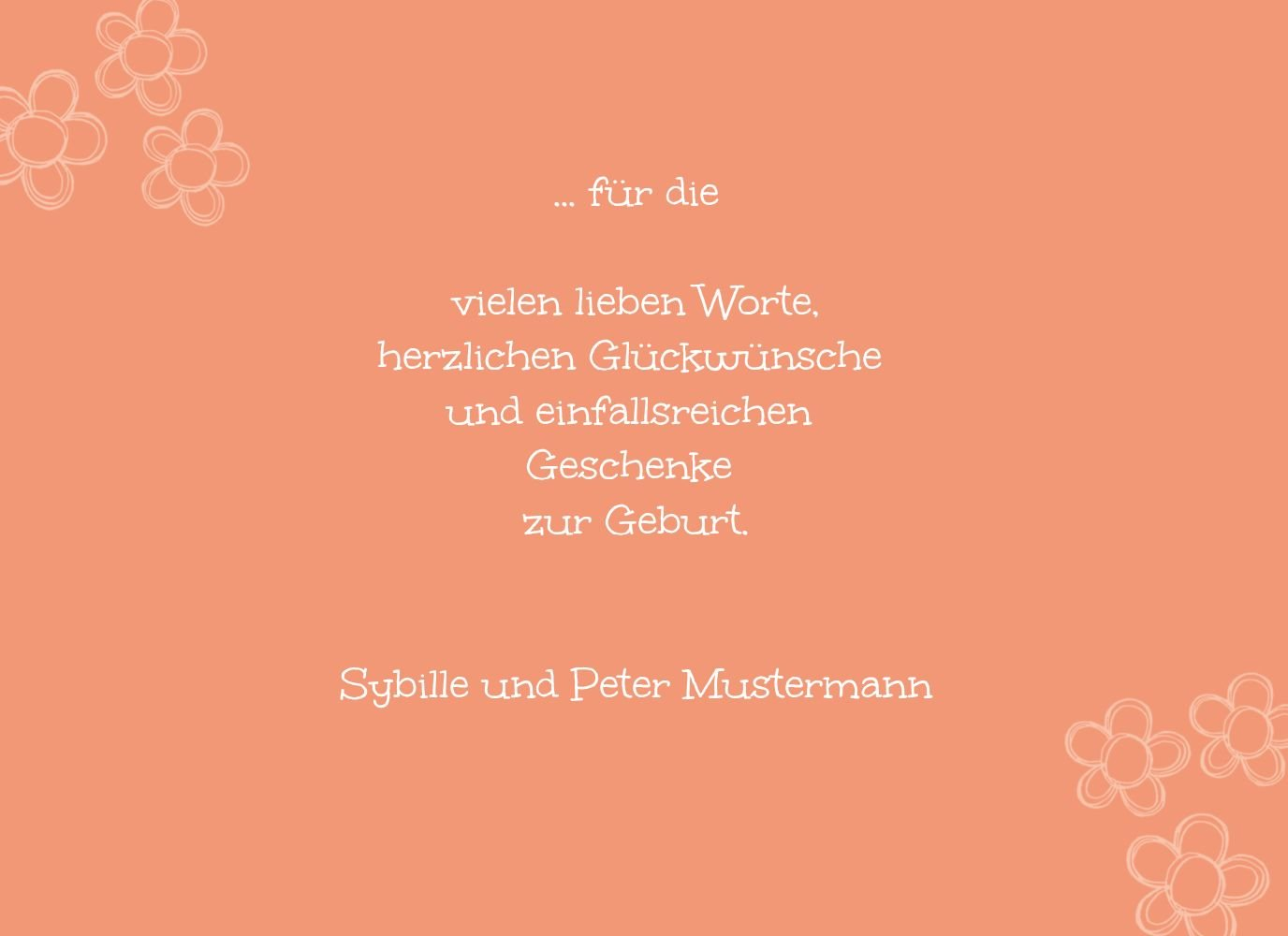 Kartenparadies Kartenparadies Kartenparadies Danksagung für Geburt Baby Dankeskarte Blüten, hochwertige Danksagungskarte Baby inklusive Umschläge   100 Karten - (Format  148x105 mm) Farbe  Hellbraun B01MTEZPQ2 | Preisreduktion  | Bestellung willkommen  | Wirtschaftlic 320b42