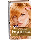 L'Oreal Preference Fade-Defying Color and Shine System, Level 3, Permanent, Warmer, 9GR Light Reddish Blonde 1 ct (Pack of 3)