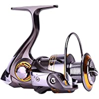 Sougayilang Fishing Reel Spinning -12+1BB Ultralight...