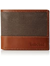 Timberland Men's Baseline Canvas Passcase