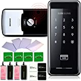 SAMSUNG SHS-2920 digital door lock keyless touchpad security EZON + 4pcs of RFID Cards + 4pcs of Key Tags + 4pcs of Sticky Key Tags