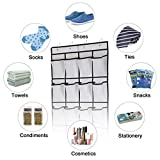 Kootek 2 Pack Over The Door Shoe Organizers, Mesh