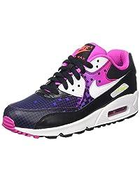 Nike Kids Air Max 90 Prem Mesh (GS) Running Shoe