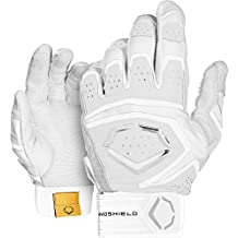 EvoShield G2S 950 Adult Batting Gloves - White Gray