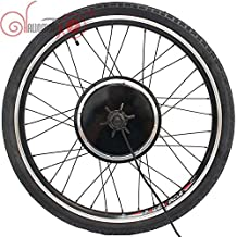 "Good Quality EBicycle 24/36/48V 500W 20"" 24"" 26"" 700C 28"" 29er Front Wheel Brushless Gearless Hub Motor+Rim+Spokes+Tyre Wheel"