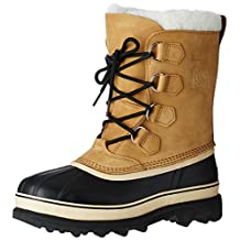Sorel Caribou Mens Buff Leather Waterproof Winter Weather Boots size 9.5
