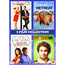 4 Film Collection: Ugly Truth/Couples Retreat/Intolerable Crulety/Knocked Up