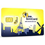 OneSimCard International SIM Card for Over 200 Countries