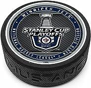 Mustang Product Winnipeg Jets 2021 Stanley Cup Playoffs 3D Textured Souvenir Hockey Puck
